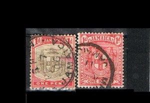 COLONIAS INGLESAS - JAMAICA 3.1  J  .