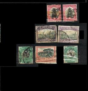 COLONIAS INGLESAS -SUDAFRICA 12.1 J .