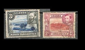 COLONIAS INGLESAS  UGANDA, KENIA, TANGANIKA 1 C
