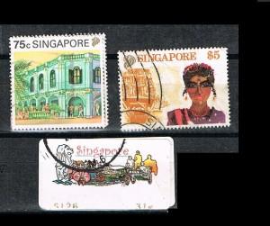SINGAPUR 1 J .