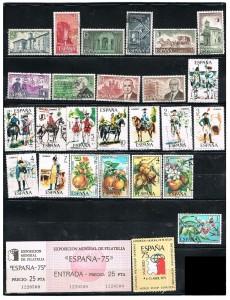 ESPAÑA 1974-75 38 B .