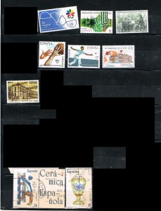 ESPAÑA 1986-1987 66 B .