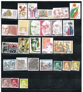 ESPAÑA 1986-1987 69 B .