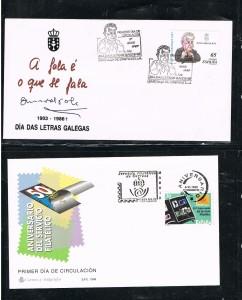 ESPAÑA 9988 1ER DIA EMISION 18