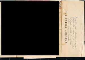ESPAÑA 9989 AEROGRAMA FRANQUISTA CIRCULADO EN AGOSTO 1937  001