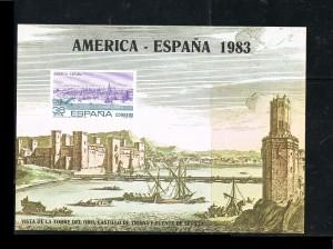 ESPAÑA HOJITAS DE EXPOSICIONES FILATELICAS 17