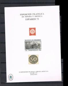 ESPAÑA HOJITAS DE EXPOSICIONES FILATELICAS 3