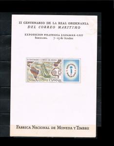 ESPAÑA HOJITAS DE EXPOSICIONES FILATELICAS 4