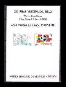 ESPAÑA HOJITAS FERIA NACIONAL DEL SELLO 6