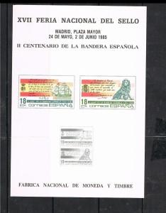 ESPAÑA HOJITAS FERIA NACIONAL DEL SELLO 7
