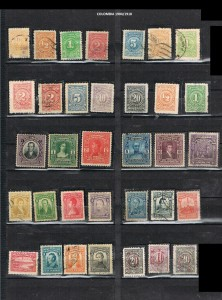 COLOMBIA 1904-18 . 5