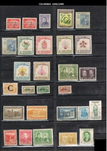 COLOMBIA 1946--49 .11