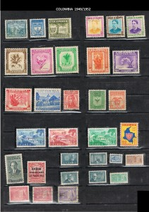 COLOMBIA 1949--52 .12
