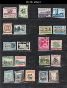 COLOMBIA 1955--56 .14