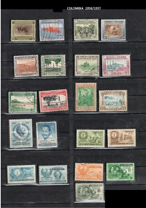 COLOMBIA 1956--57 .15