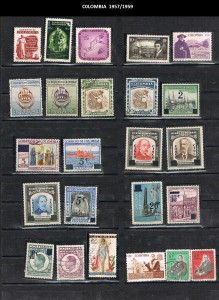 COLOMBIA 1957--59 .16