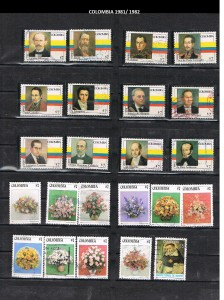 COLOMBIA 1981 -82 .27