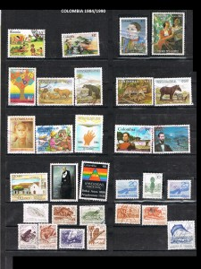 COLOMBIA 1984-90. 30