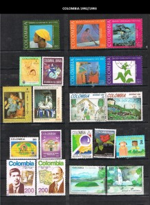COLOMBIA 1992-93. 35
