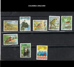 COLOMBIA 1992-94. 35