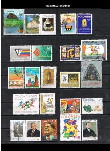 COLOMBIA 1993-98. 36