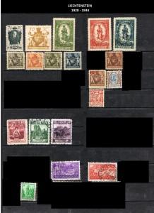 LIECHTENSTEIN  -1920-1934  2