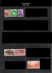 LIECHTENSTEIN  -1937-1943  3
