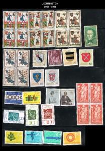 LIECHTENSTEIN  -1963-1966  8