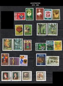 LIECHTENSTEIN  -1979-1981  24