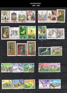 LIECHTENSTEIN  -1988-89  31
