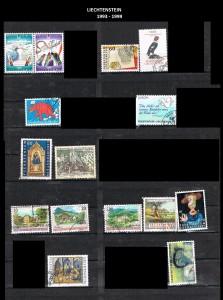 LIECHTENSTEIN  -1993-99  34