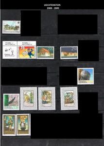 LIECHTENSTEIN  -2000-2005  36