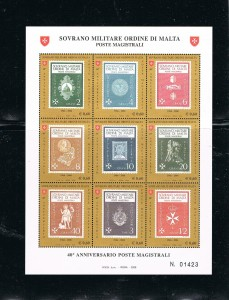 SOBERANA  MILITAR ORDEN DE MALTA 2 H. .