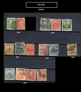 URUGUAY 1892-1899