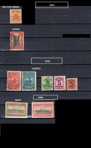 URUGUAY 1909-1911