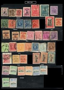 URUGUAY 1909-1920
