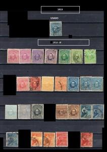 URUGUAY 1912-1913