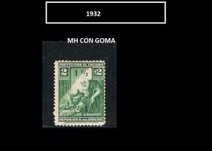 URUGUAY 1932-1