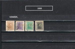 URUGUAY 1935-1