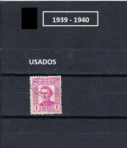 URUGUAY 1939-1940.-2
