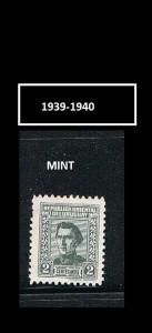 URUGUAY 1939-1940.-3