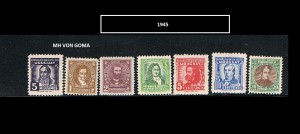 URUGUAY 1945 -2