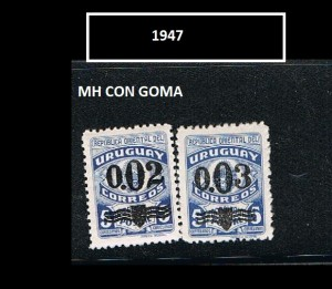 URUGUAY 1947-2