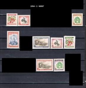 URUGUAY 1954-1 MINT