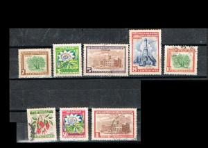 URUGUAY 1954-1 USADOS
