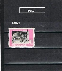 URUGUAY 1967-3 MINT