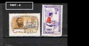 URUGUAY 1967-4