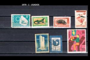 URUGUAY 1970-1 USADOS