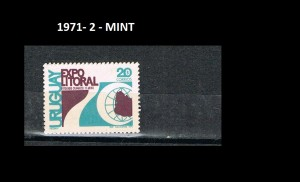URUGUAY 1971-2 MINT