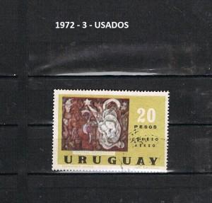 URUGUAY 1972-3 USADOS